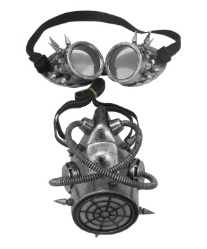 Steampunk Mask and Goggles