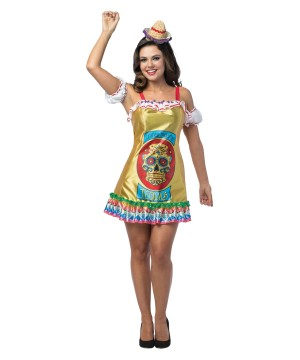 Womens Tequila Dress Costume