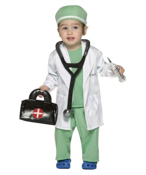 Toddler Boys Doctor Costume