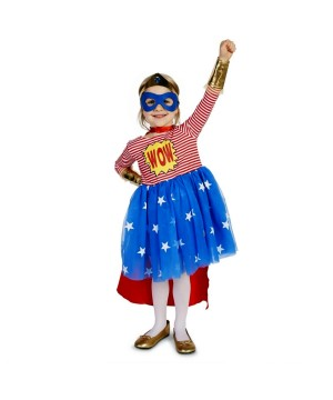 Toddler Comic Wow Super Girl Costume