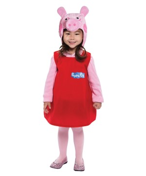 Toddler Peppa Pig Dress Costume