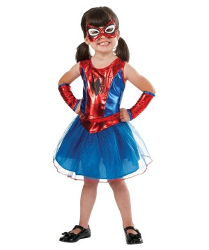 Girls Toddler Spidergirl Costume