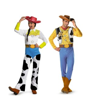Toy Story Woody and Jessie Couples Costume