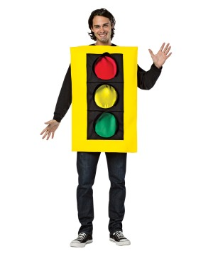 Adult Traffic Light Costume