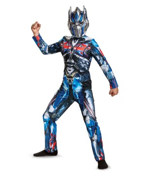 Transformers 5 Optimus Prime Boys Costume