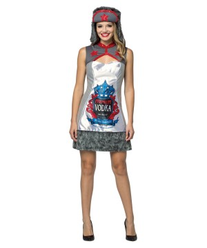 Womens Vodka Dress Costume