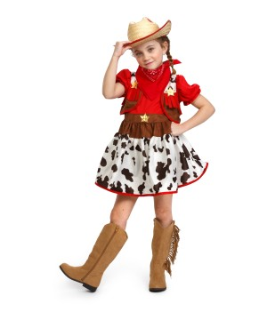 Western Rodeo Cowgirl Costume
