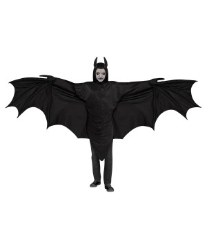 Wing Bat Mens Costume