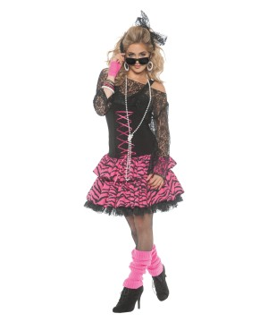 Womens 80's Retro Costume
