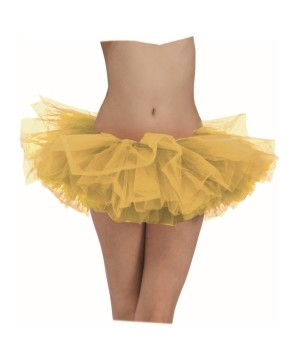 Womens Golden Ballerina Tutu