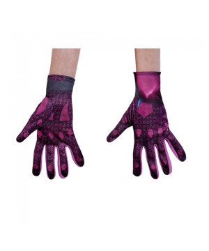 Womens Pink Ranger Gloves Accessory