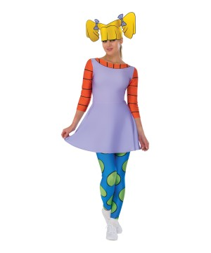 Womens Angelica Rugrats Costume