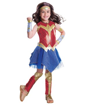 Wonder Woman Girls Costume deluxe