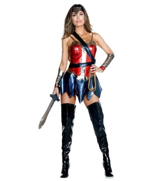 Enchanted Wonder Woman Superhero Costume