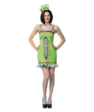 Womens Wrigleys Double Mint Gum Dress