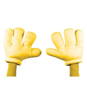 Yellow Cartoon Hands