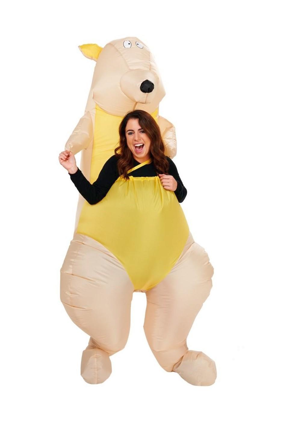 Adult Kangaroo Inflatable Costume  sc 1 st  Wonder Costumes & Kangaroo Inflatable Costume - Funny Costumes