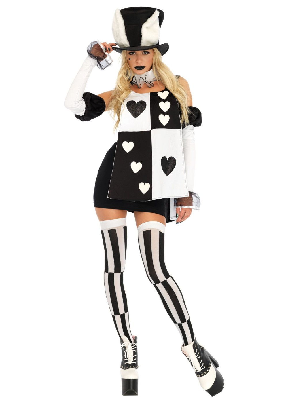 Alice In Wonderland White Rabbit Women Costume