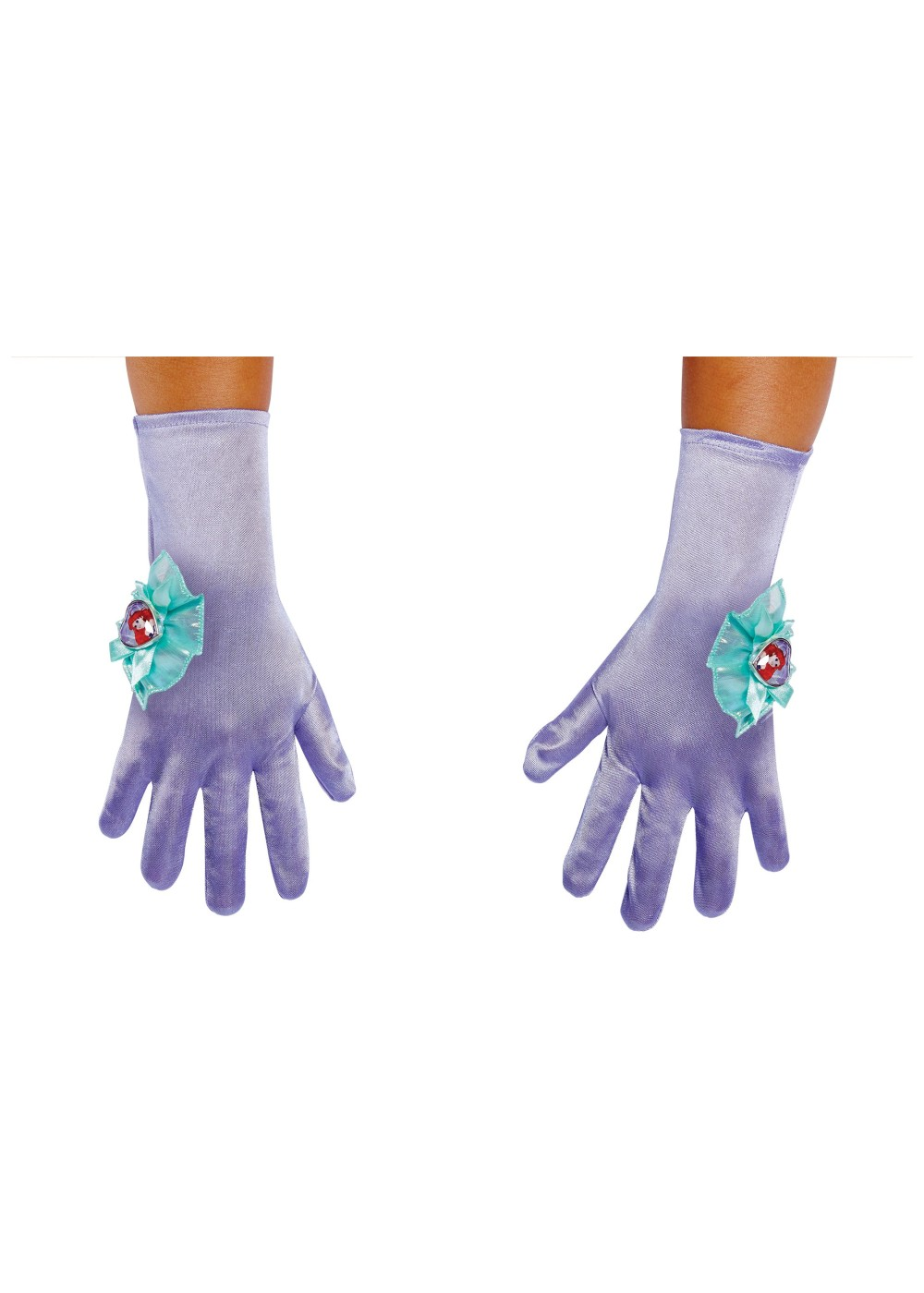 Kids Ariel Girls Costume Gloves