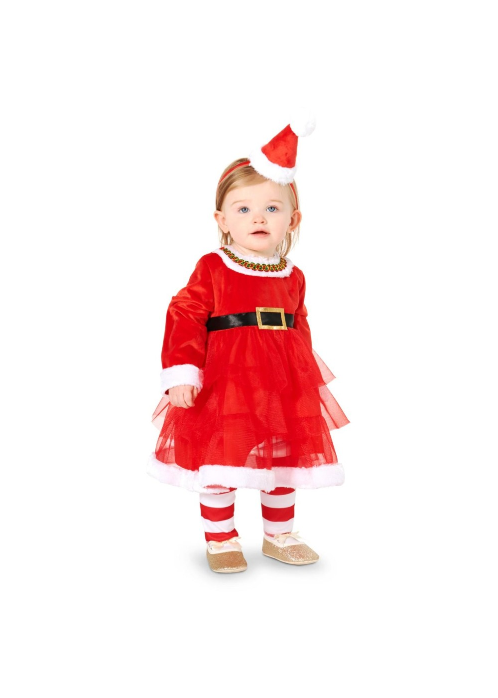Baby Girls Festive Christmas Costume
