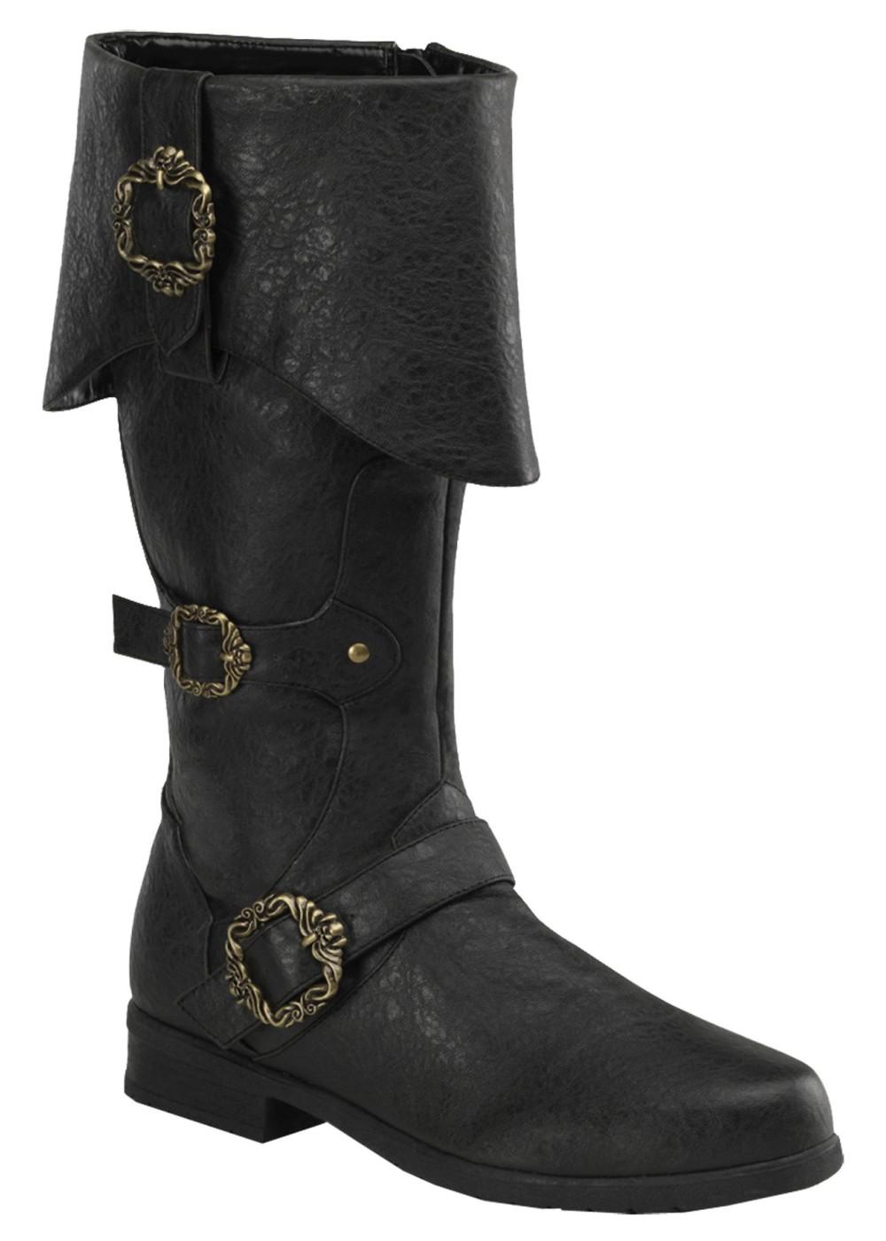 Black Pirate Boots Accessories
