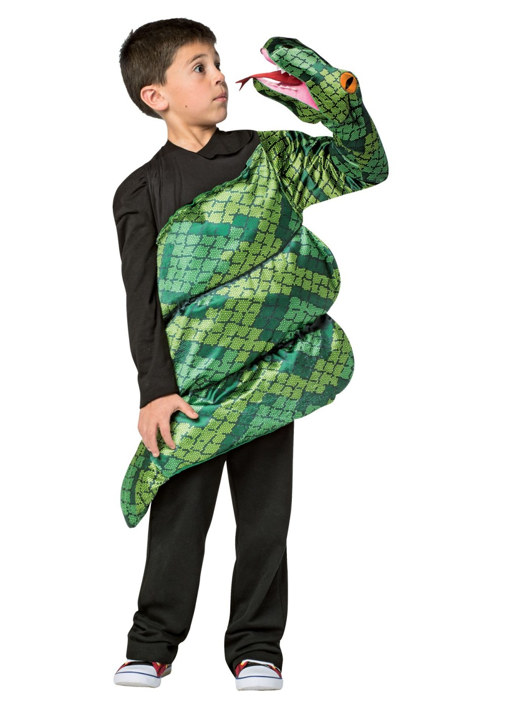 boys green anoconda costume  animal costumes