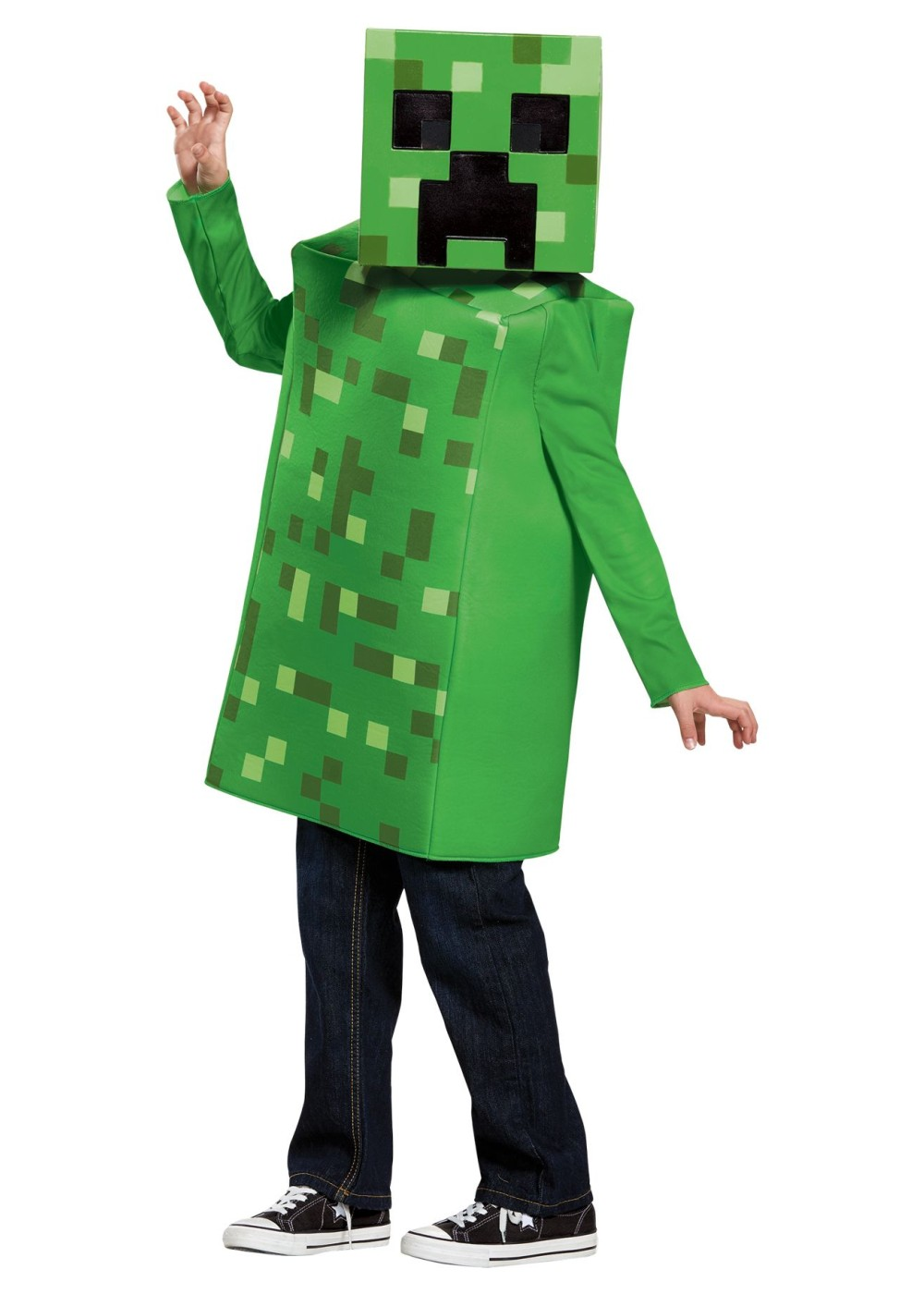 Boys Minecraft Creeper Costume Video Game Costumes