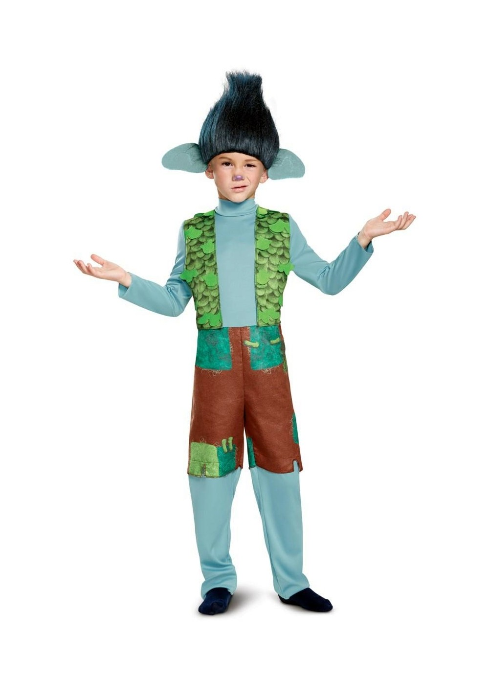 Boys Trolls Costume