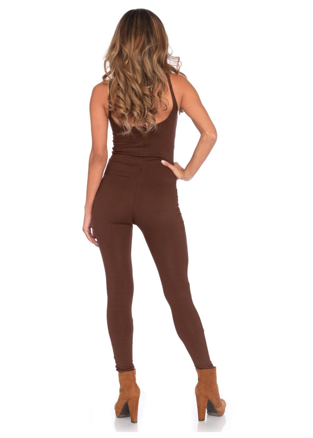 Brown Basic Unitard Women - Dancewear Costumes