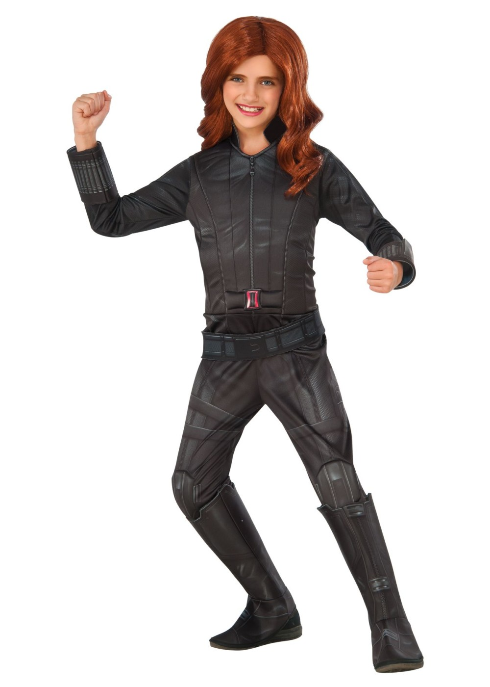 Kids Child Black Widow Costume
