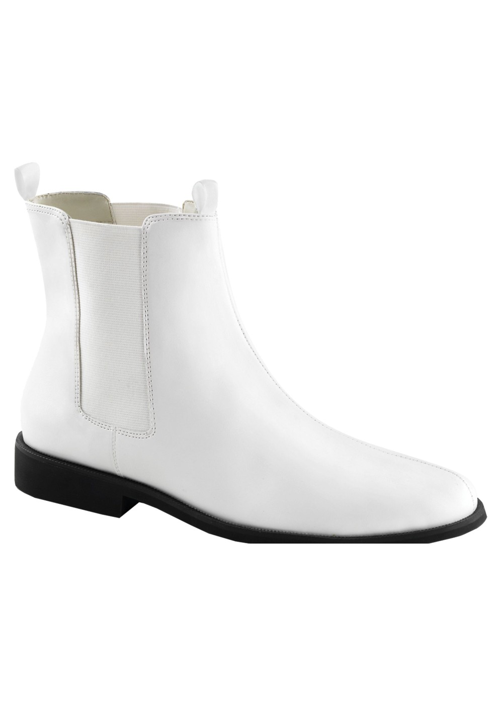 Classic White Cowboy Boots