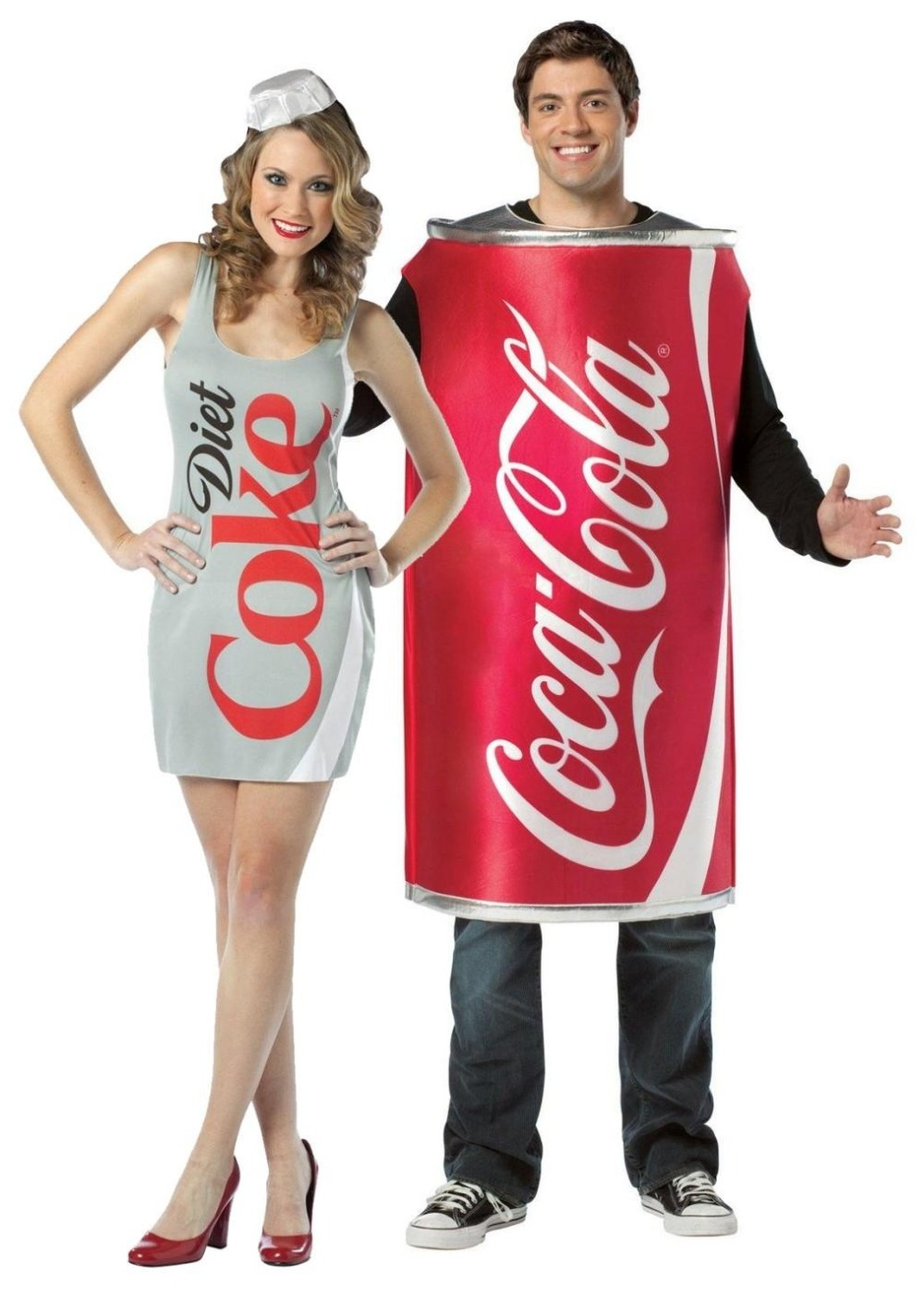 bceb0e262b8 Coke and Diet Coke Couples Costume - Food Costumes