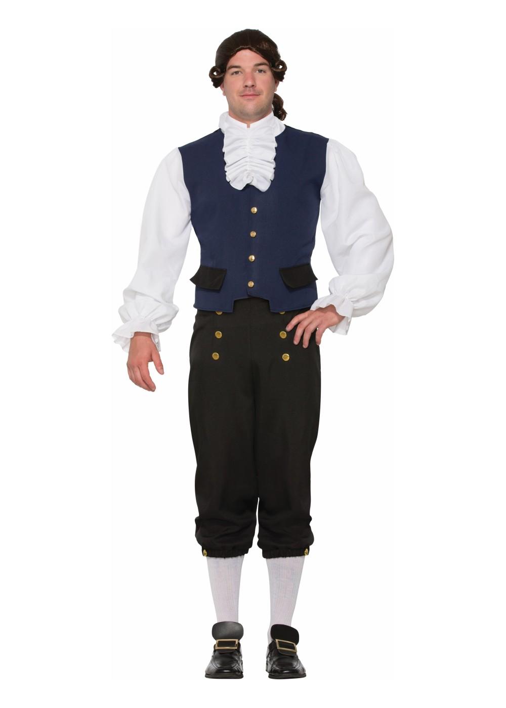 Alexander Hamilton Men Costume Patriotic Costumes