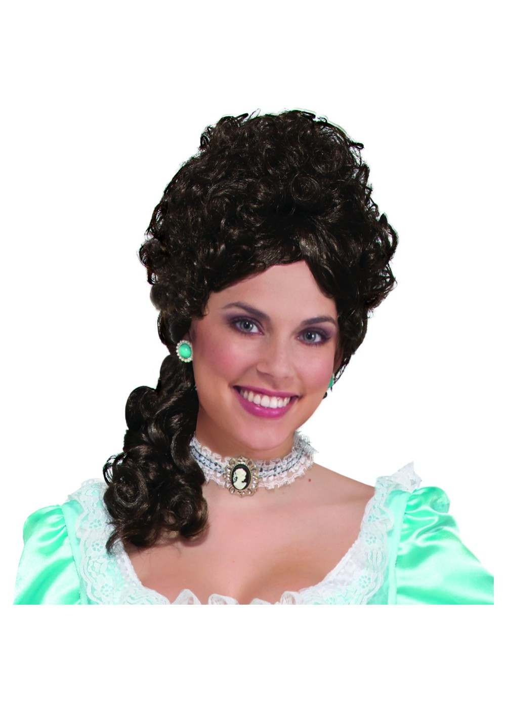 Brown Colonial Women Wig Wigs