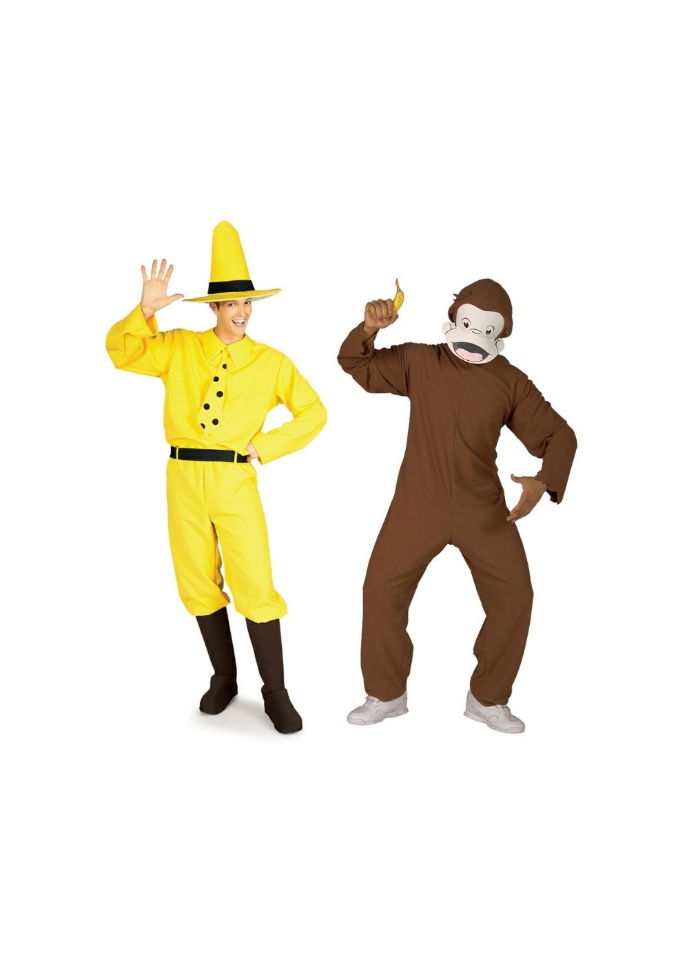 39b466edb41 Curious George Costume Duo - Couples Costume