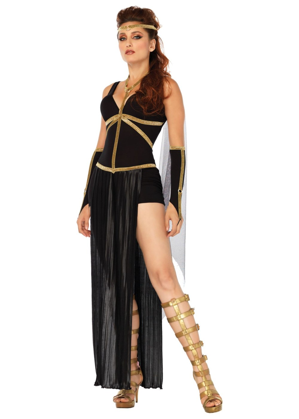 dark goddess women costume