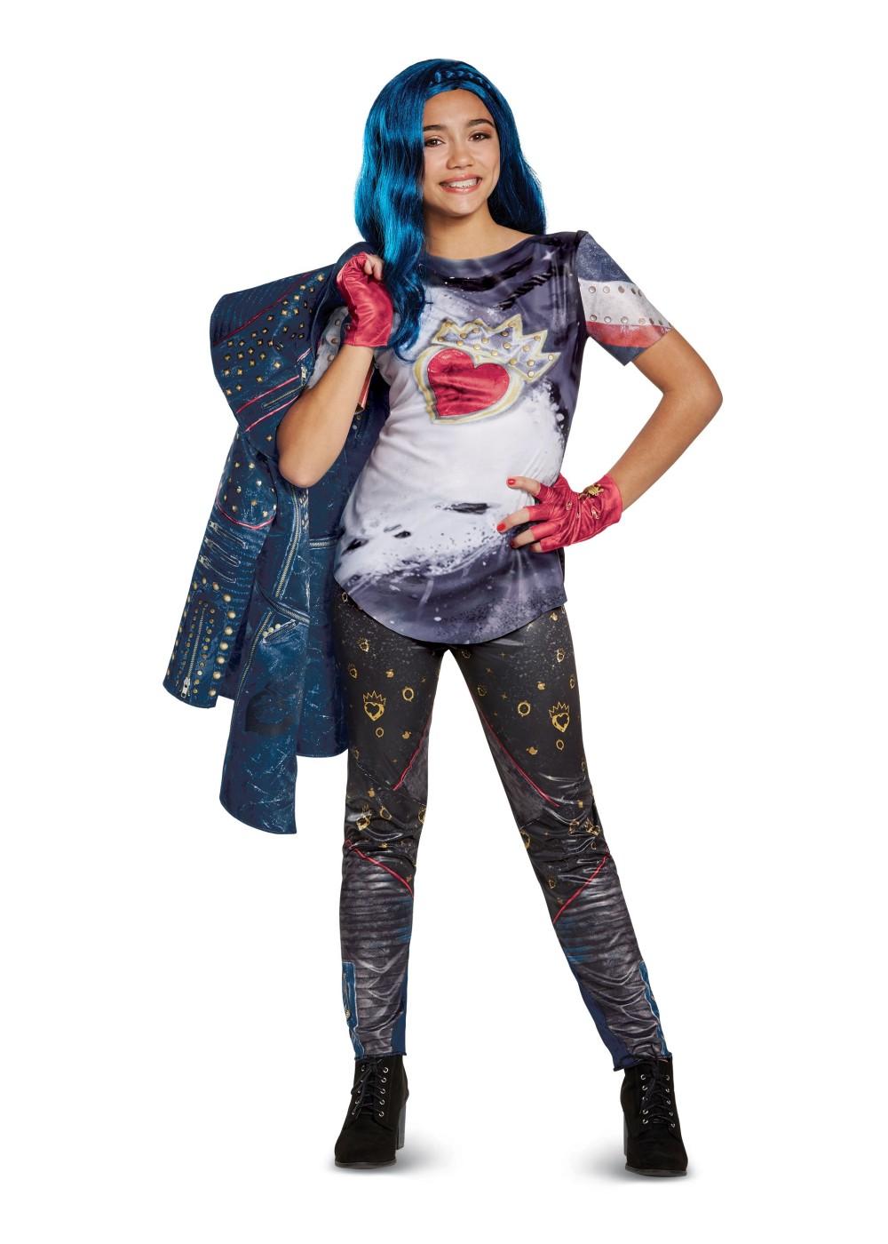 Descendants 2 Evie Girls Costume - Disney Costumes