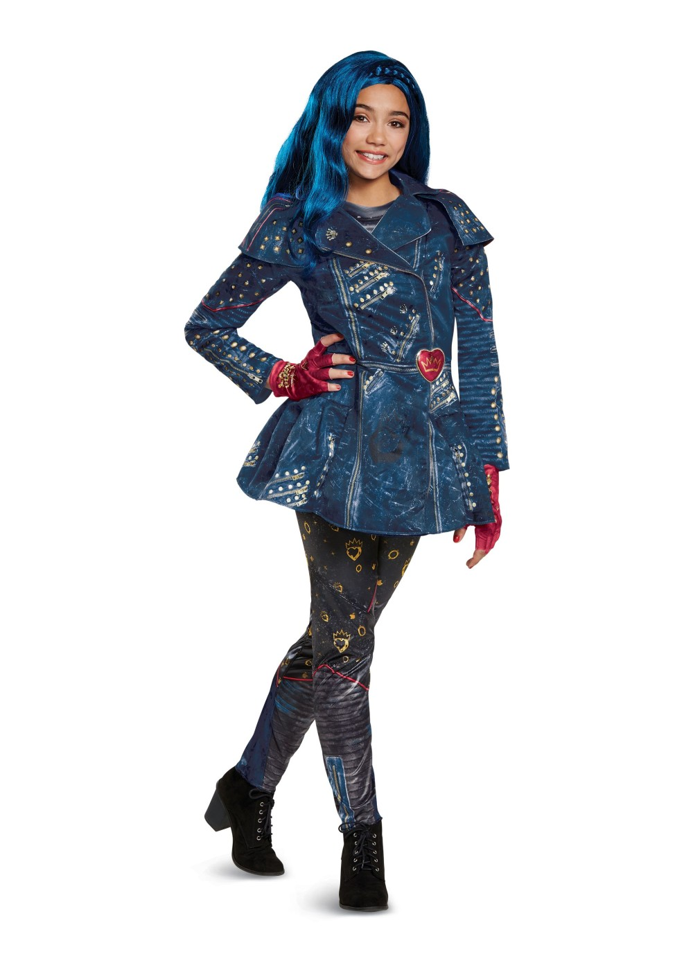 Kids Descendants 2 Evie Girls Costume Deluxe
