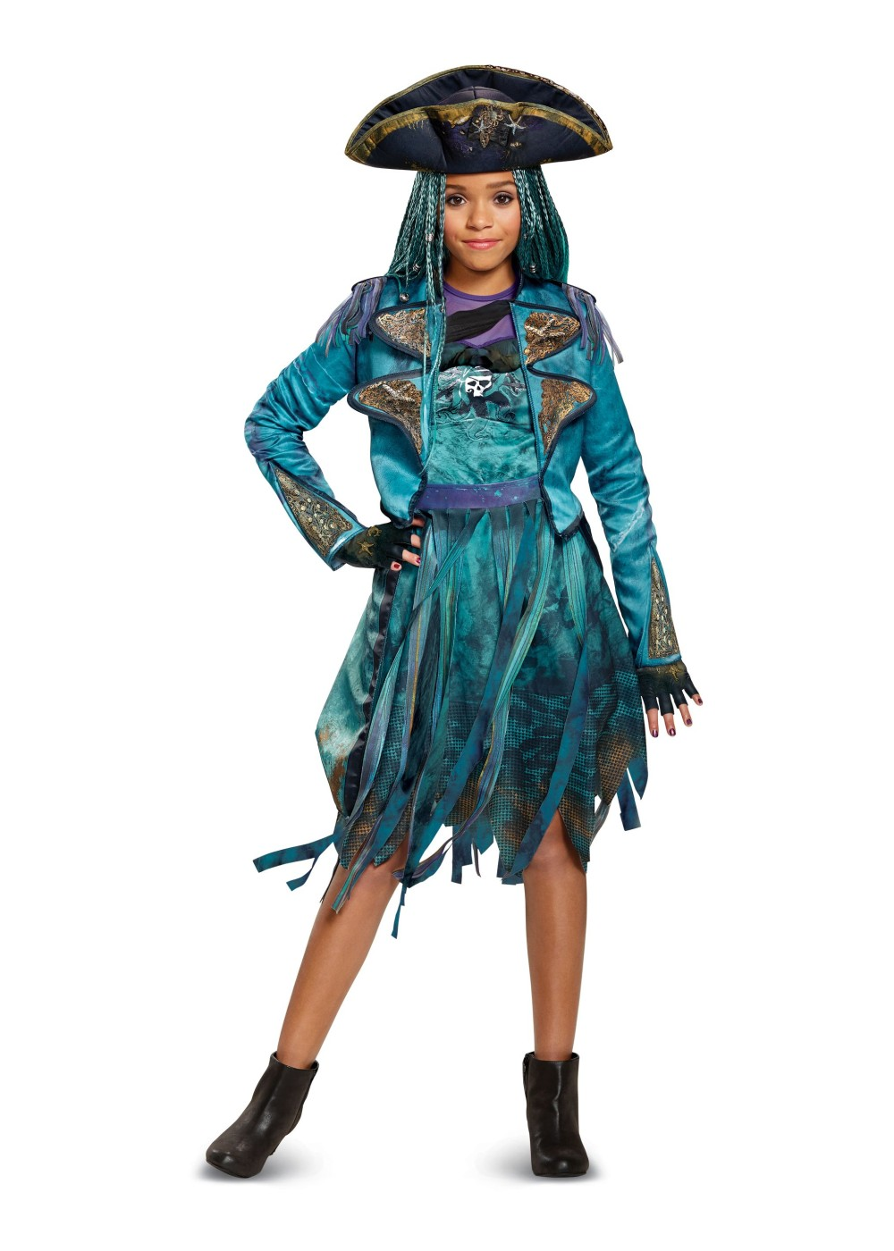 Kids Descendants 2 Uma Girls Costume Deluxe