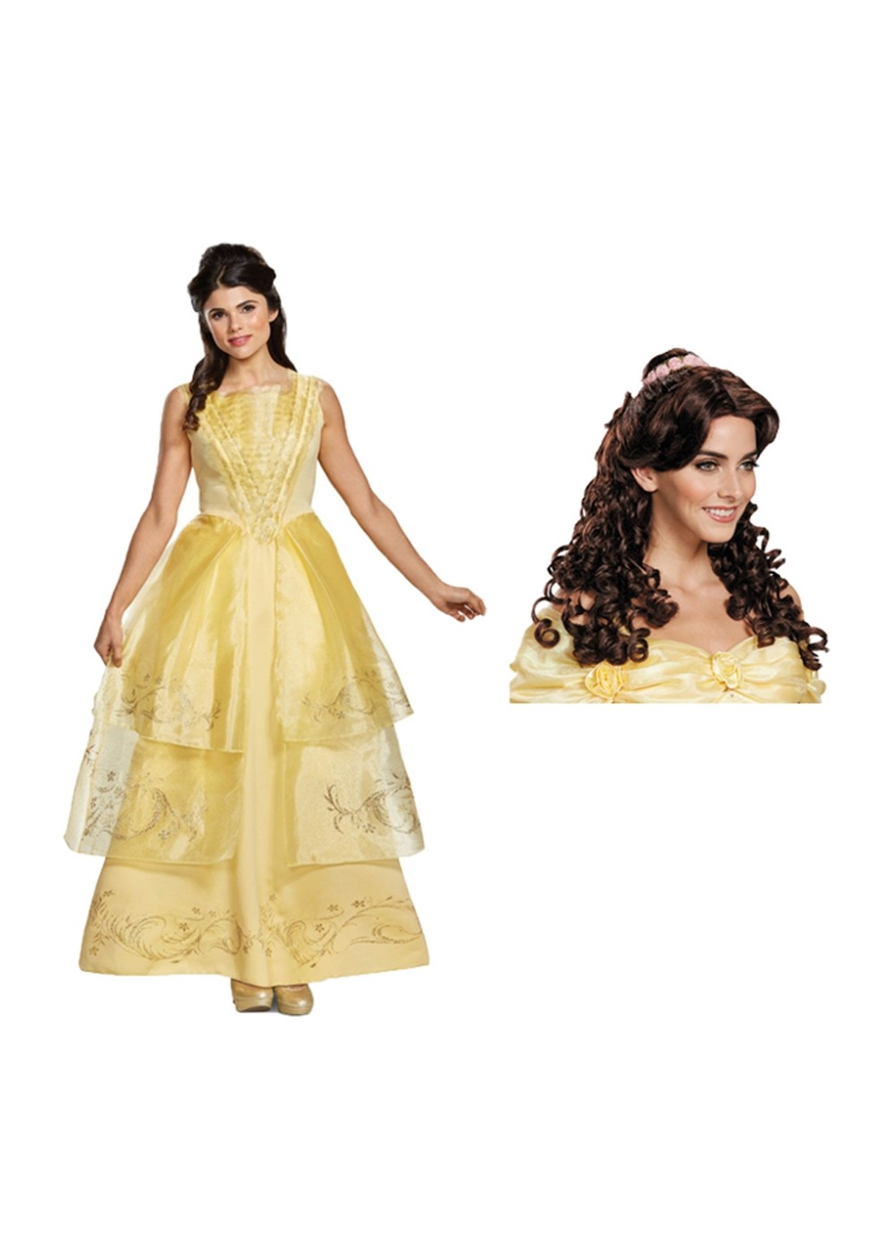 Disney Belle Womens Costume Kit