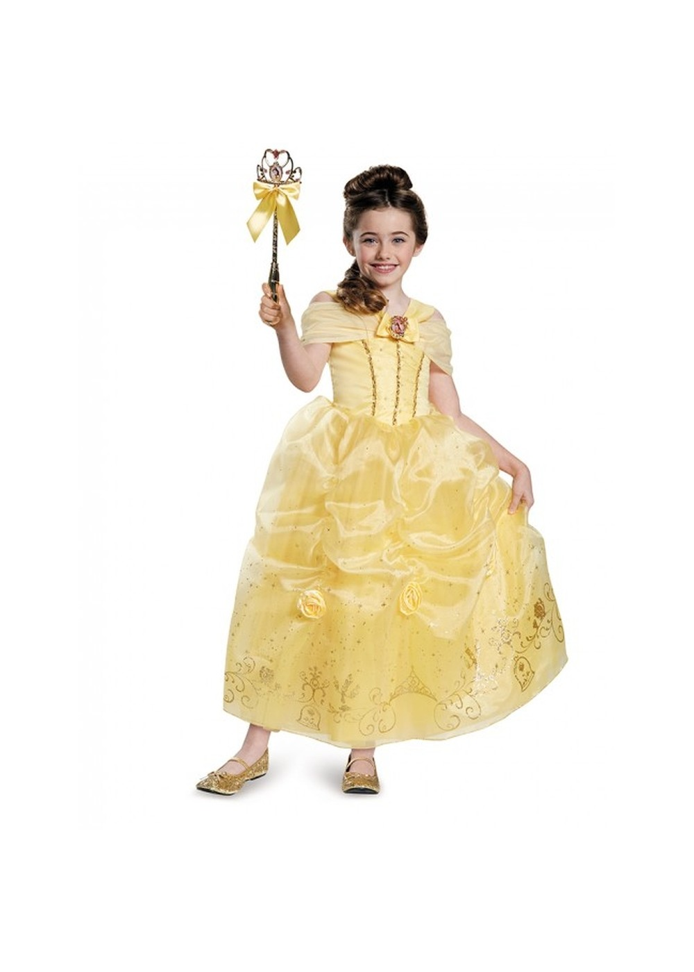Kids Disney Princess Girls Belle Gown