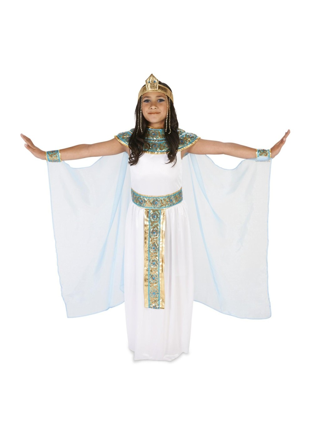 Kids Egyptian Princess Girls Costume