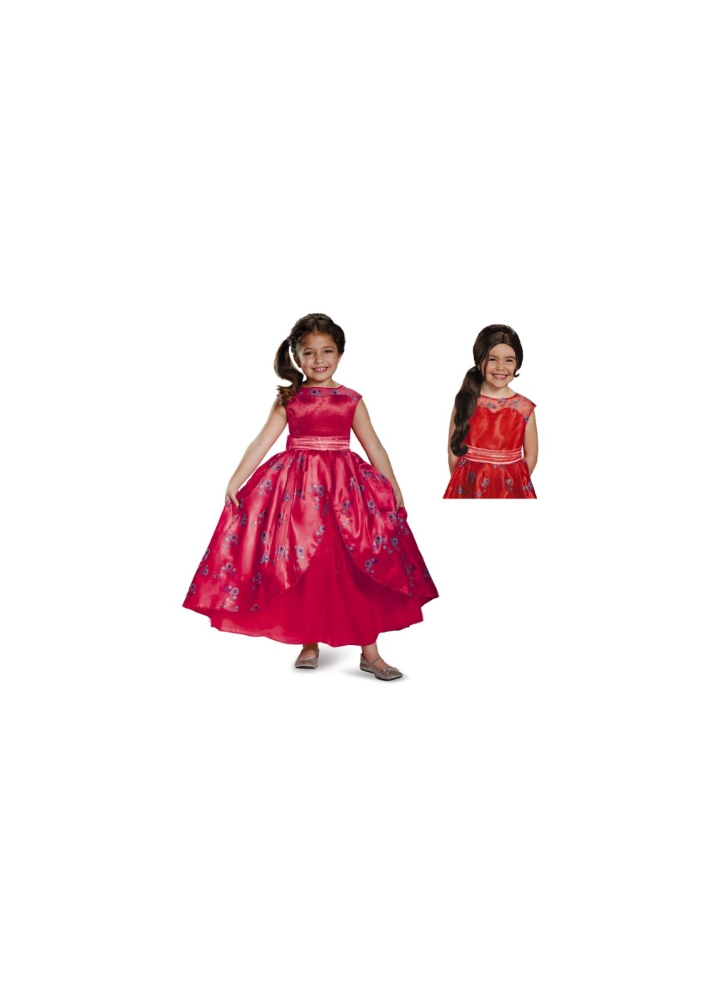 Kids Elena Of Avalor Girls Costume Kit