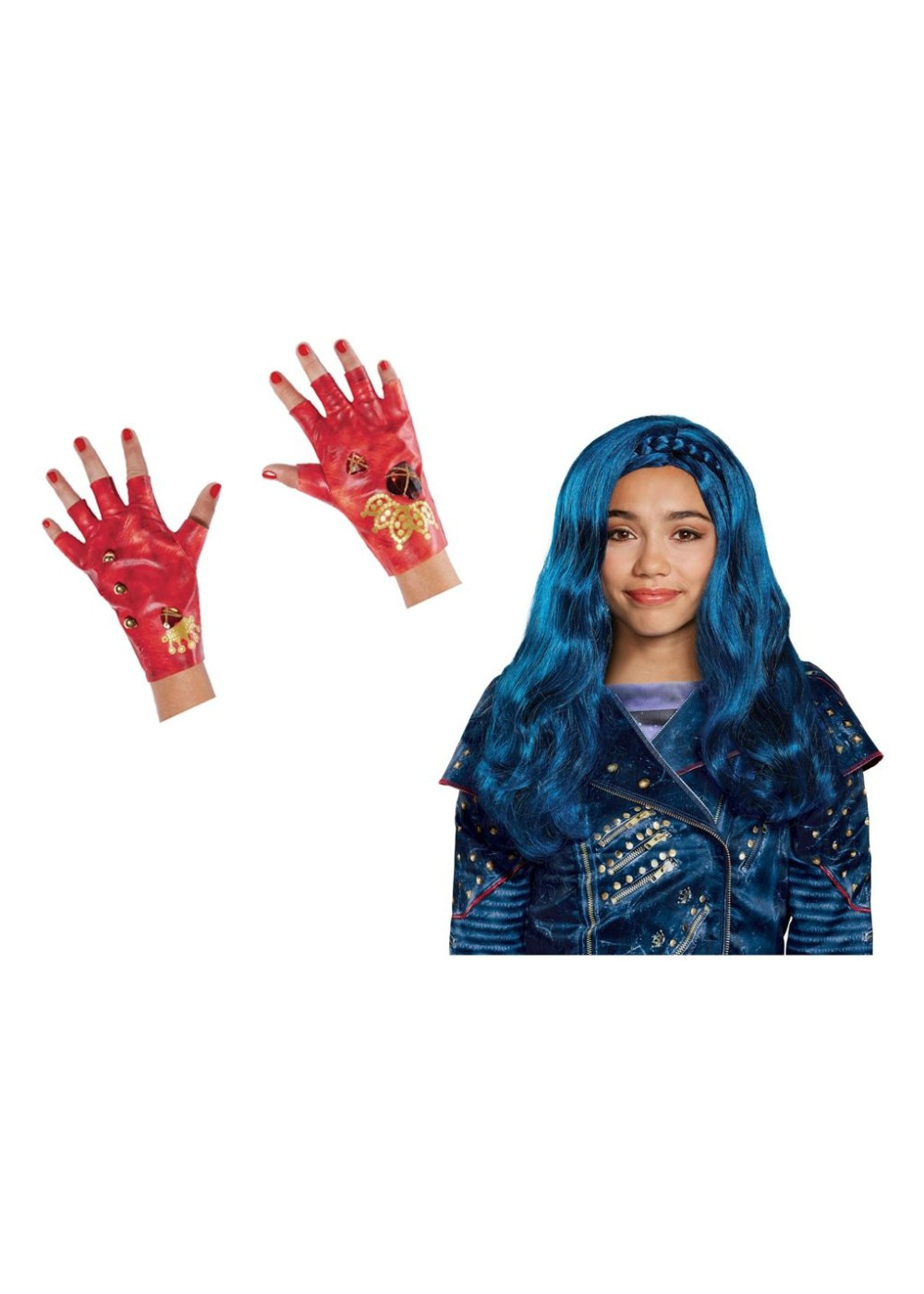 Desecndants 2 Evie Girls Costume Kit - Disney Costumes