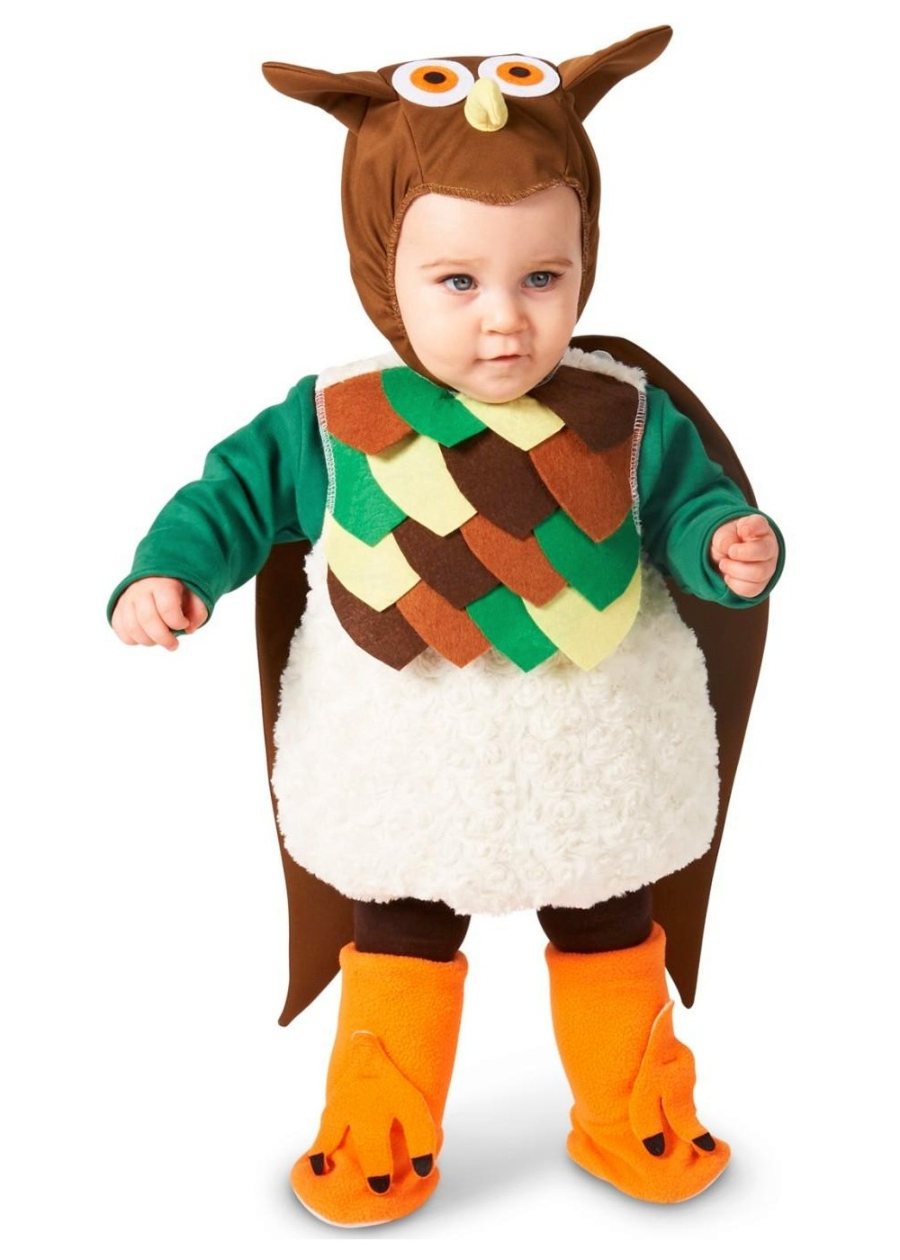 Flying Hoot Baby Boys Owl Costume  sc 1 st  Wonder Costumes & Flying Hoot Baby Boys Owl Costume - Animal Costumes - New for 2018