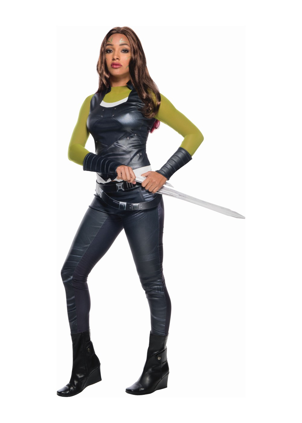 Guardians Of The Galaxay Gamora Women Costume