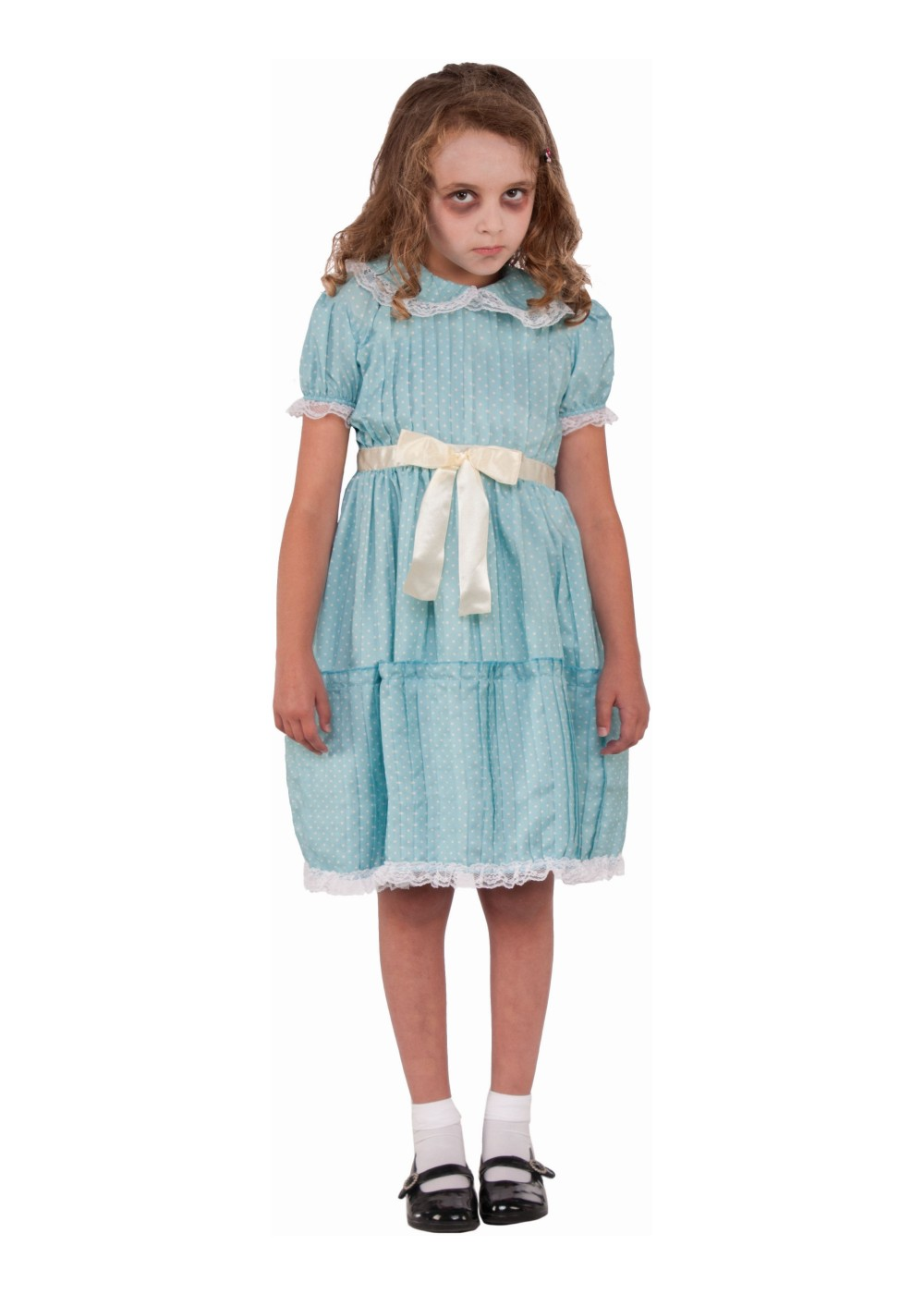 Kids Creepy Sister Girls Costume