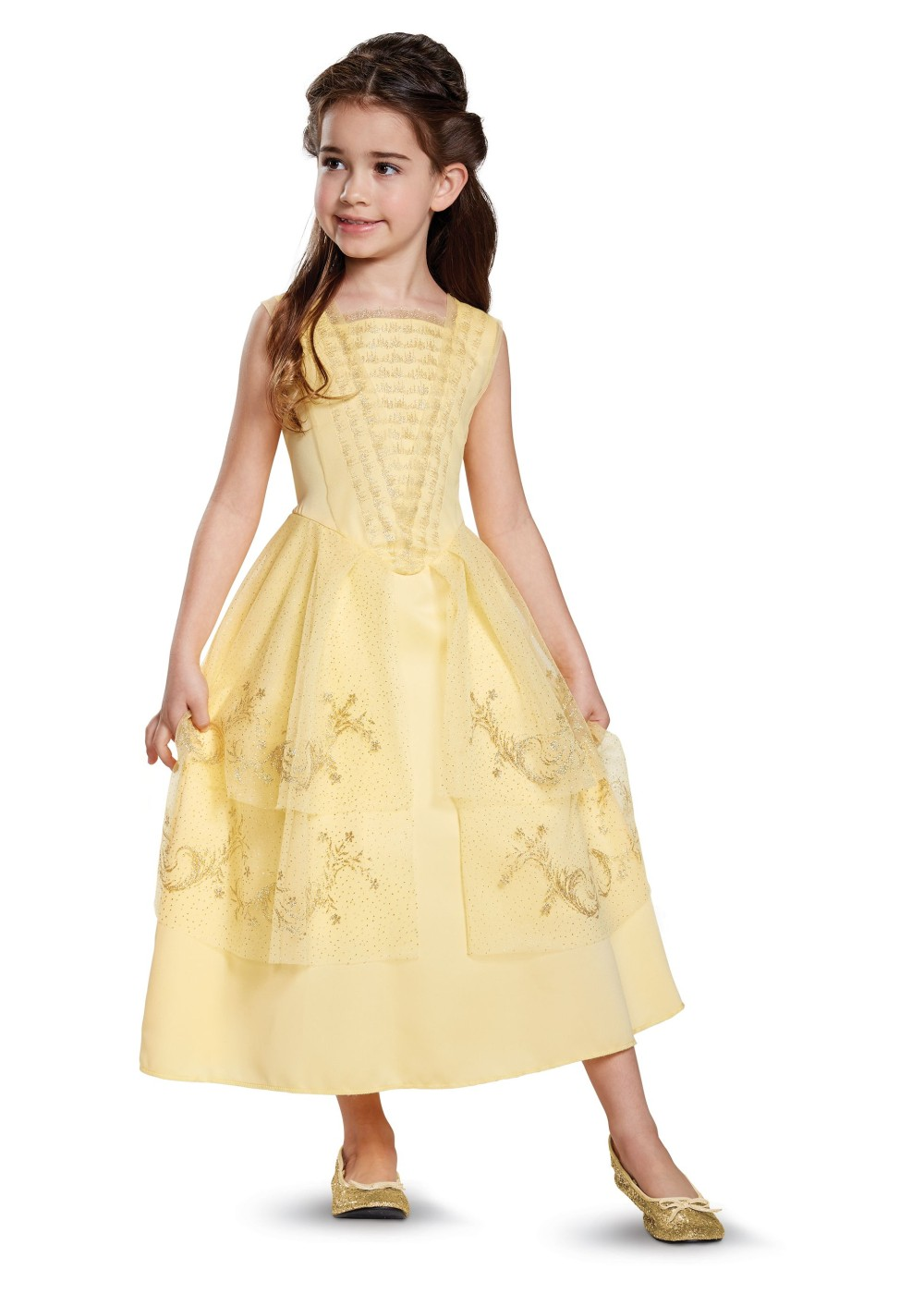 Kids Girls Belle Ball Gown