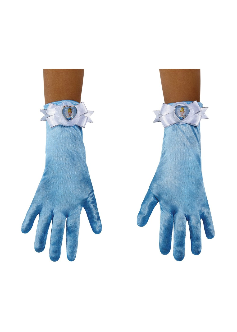 Kids Cinderella Girls Costume Gloves