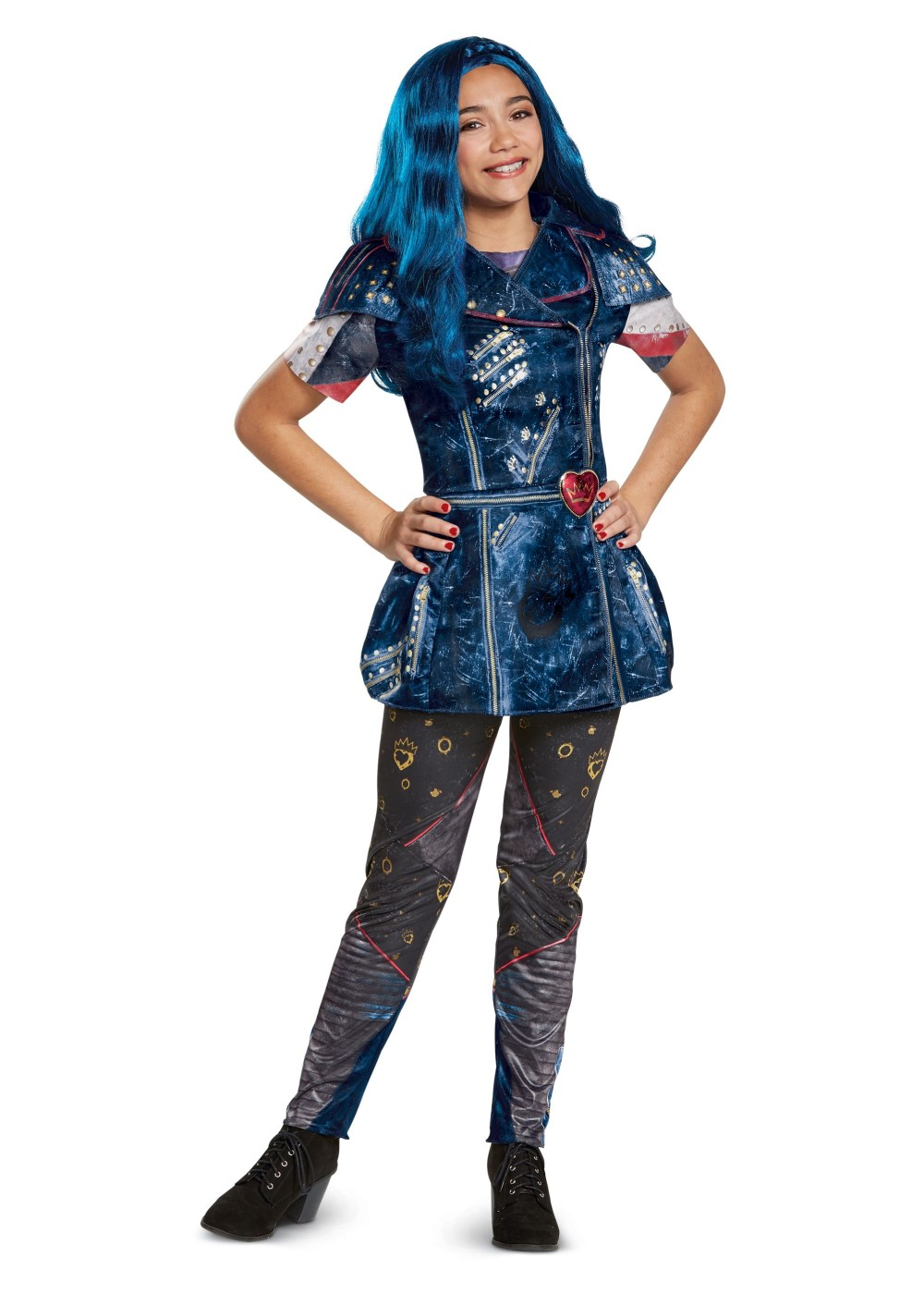 Kids Descendants 2 Evie Girls Classic Costume
